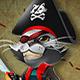 Mascot Design : Pirate Cat