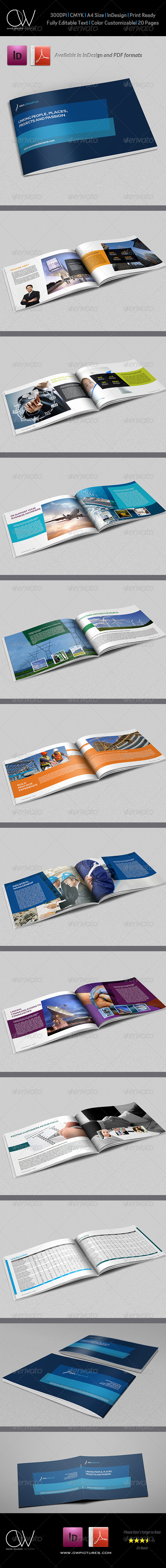 GraphicRiver Corporate Brochure Template Vol.12 20 Pages 5900615