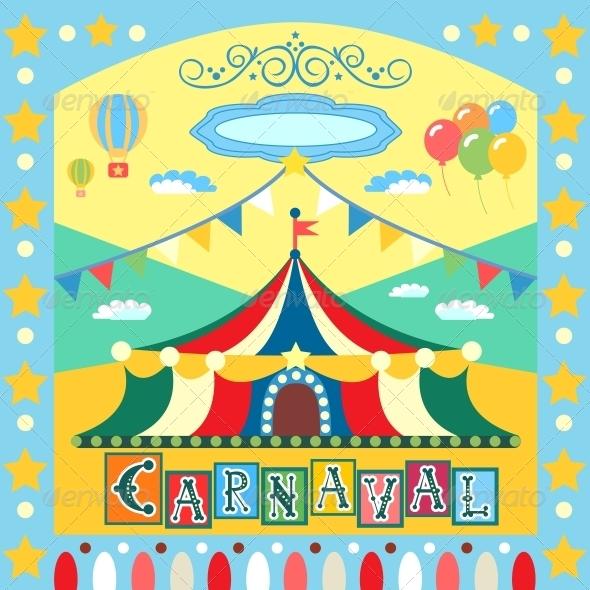 GraphicRiver Carnival Poster 5900637