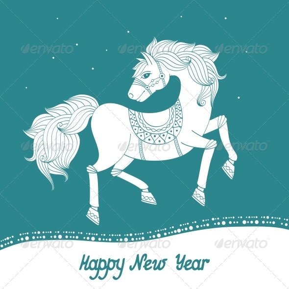 GraphicRiver Year of Horse 5900640