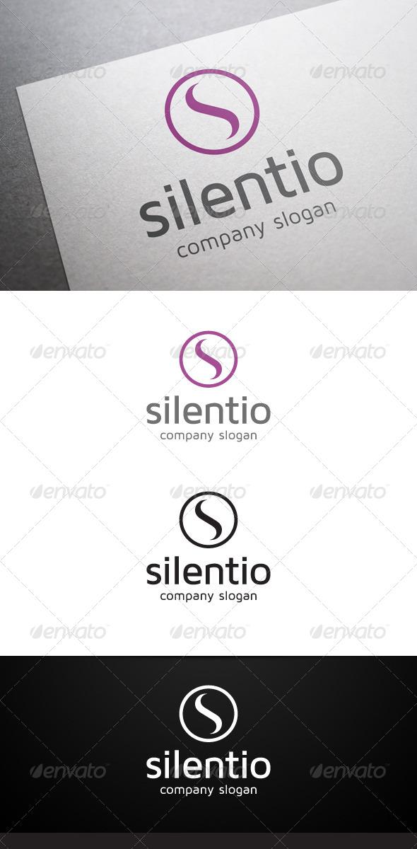 GraphicRiver Silentio S Letter Logo 5901334