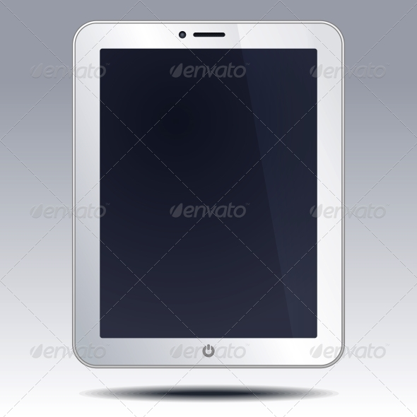 GraphicRiver Realistic Tablet PC Computer 5901457