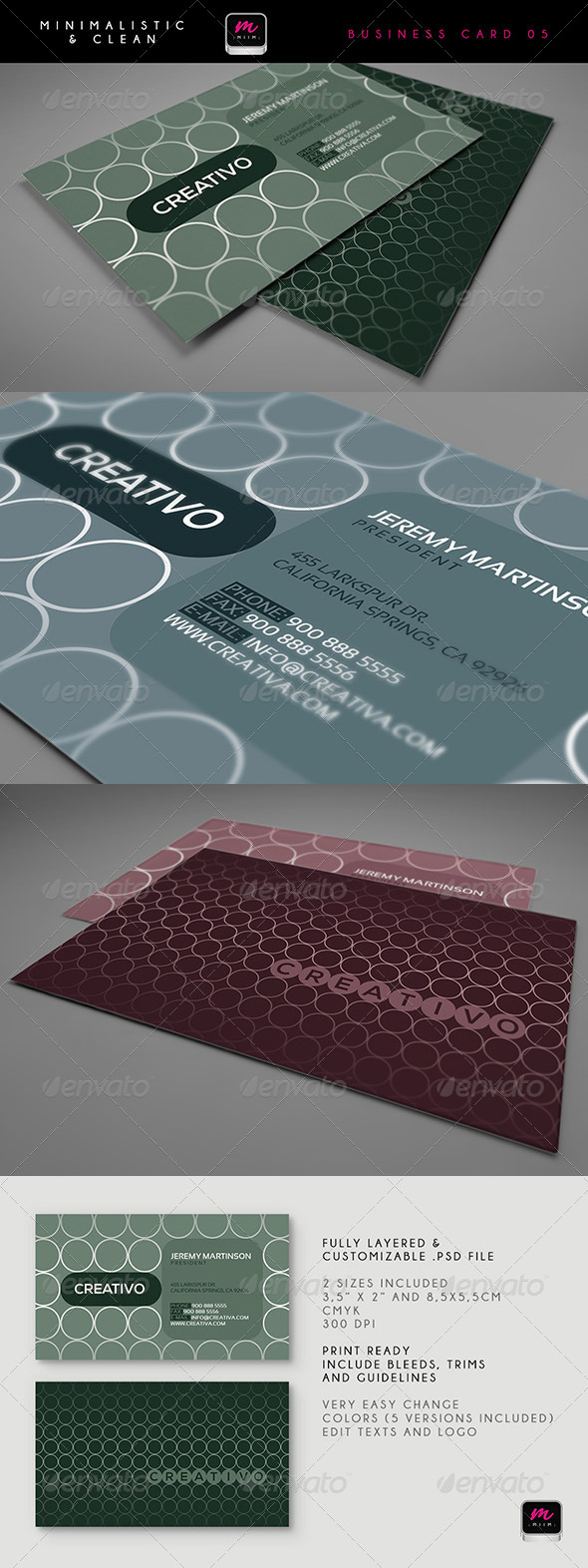 GraphicRiver Clean Business Card Template 01 5901499