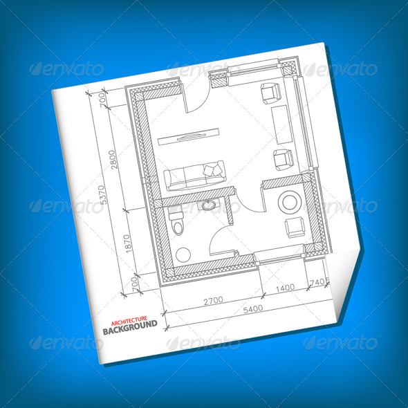 GraphicRiver New Architecture Plan 5901514