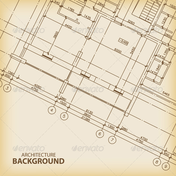 GraphicRiver Old Architecture Background 5901516