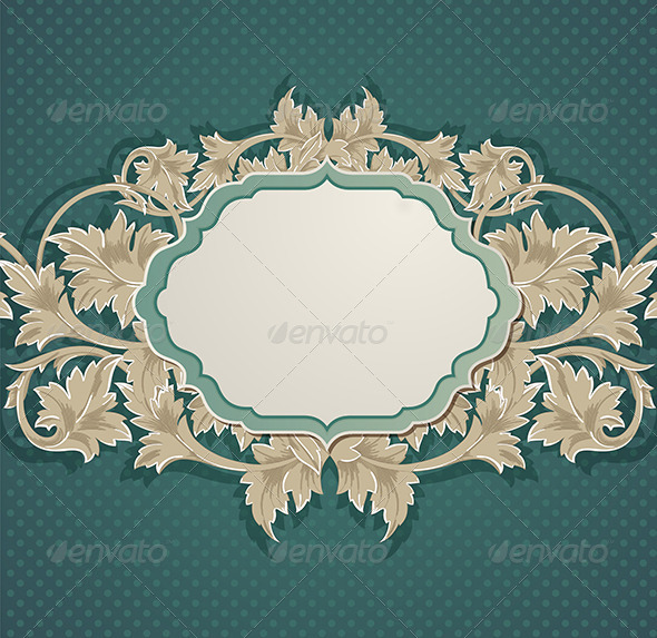GraphicRiver Green Vintage Background 5901830
