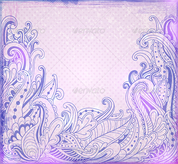 GraphicRiver Abstract Violet Background 5901944