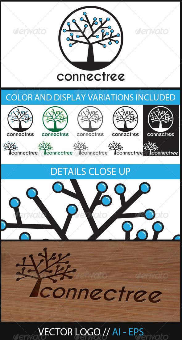 GraphicRiver Connectree Logo 5897417