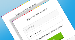 CSS3 Login / Signup