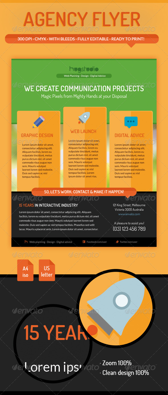 GraphicRiver Agency Flyer 5902847