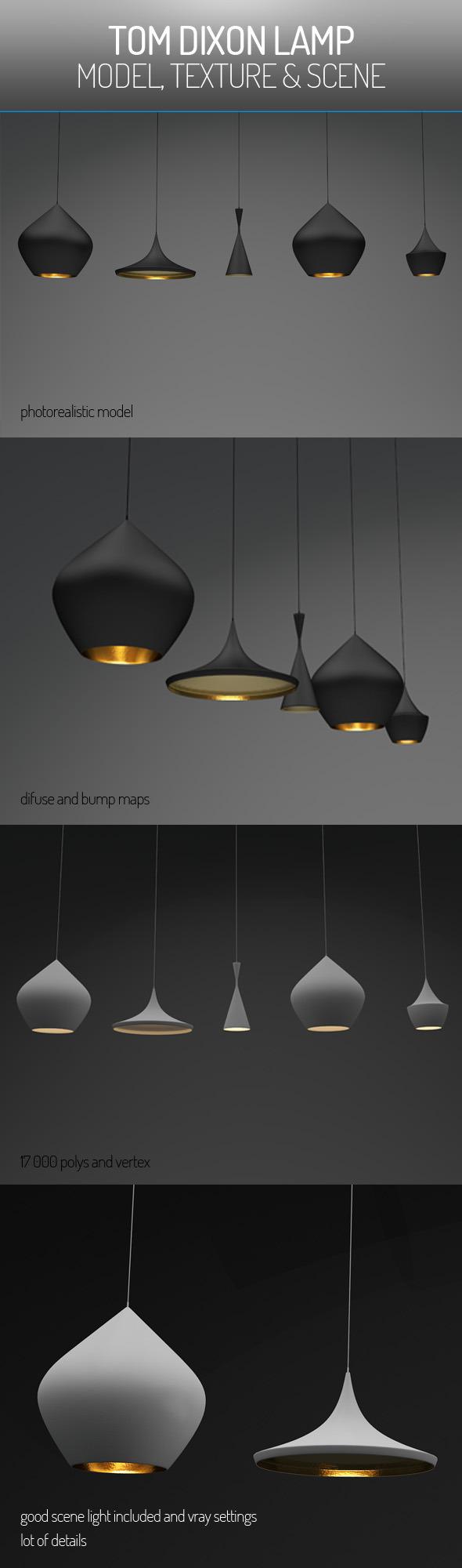 3DOcean Tom Dixon Lamp 5902861