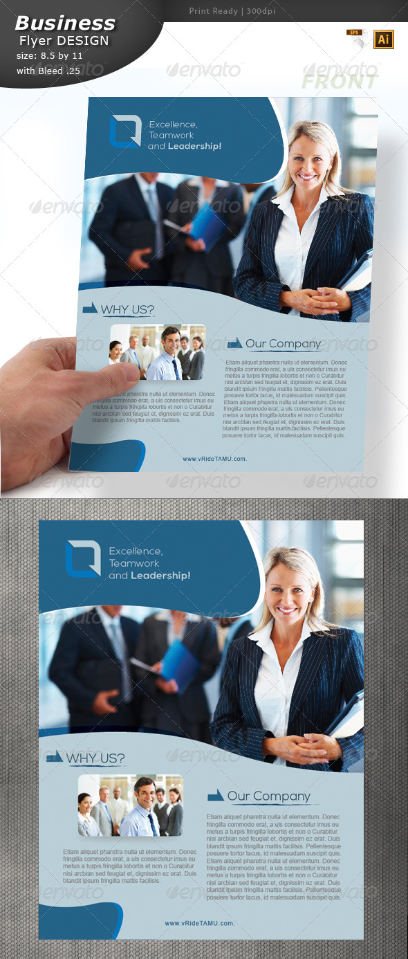 GraphicRiver Business Flyer Design 5902898