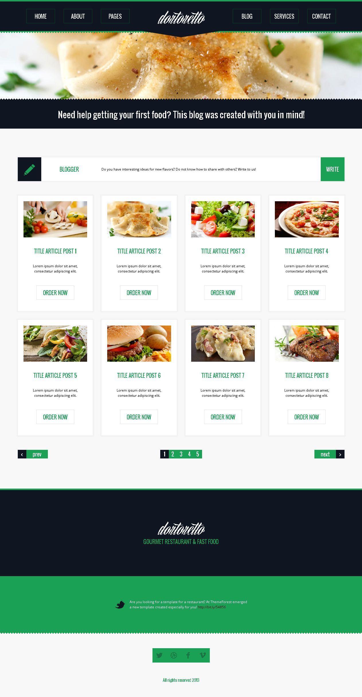 Dortoretto HTML Theme