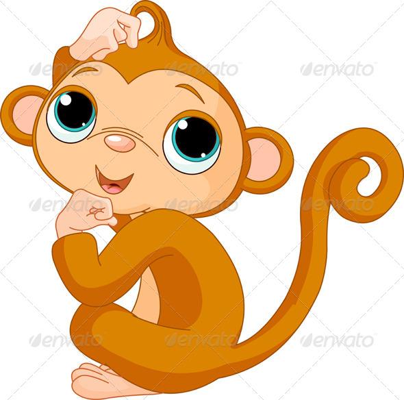 GraphicRiver Thinking Monkey 5903084