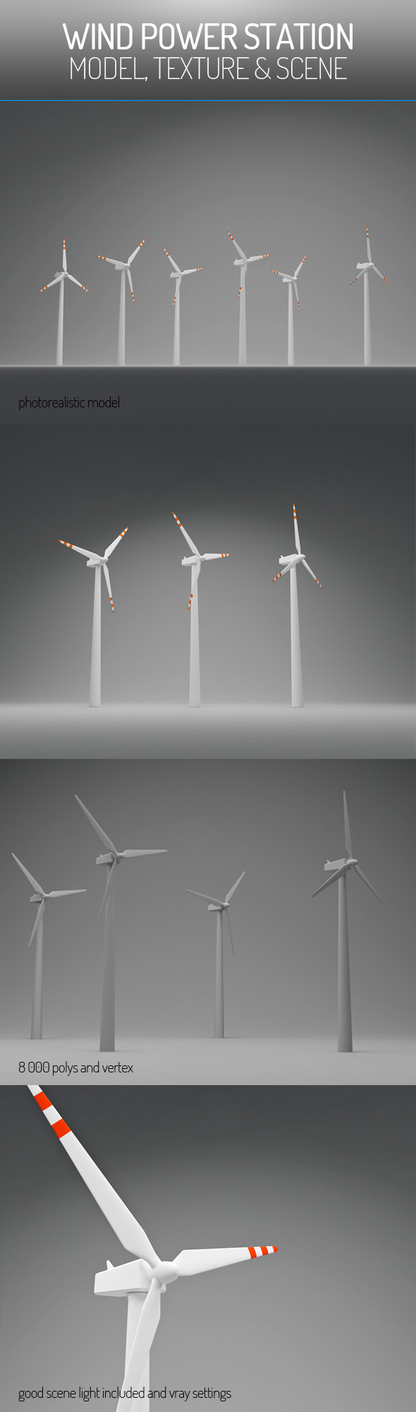 3DOcean Wind Power Station 5903101