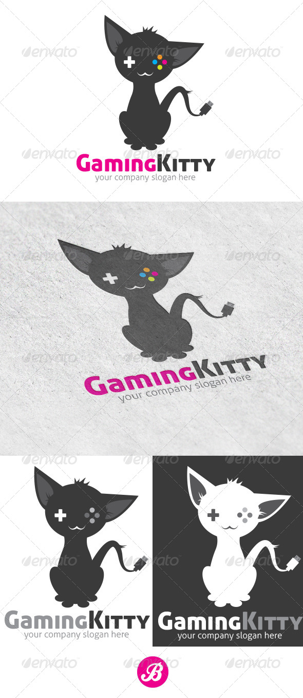 GraphicRiver Gaming Kitty 5899538