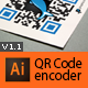 QR Code generator for Illustrator - GraphicRiver Item for Sale