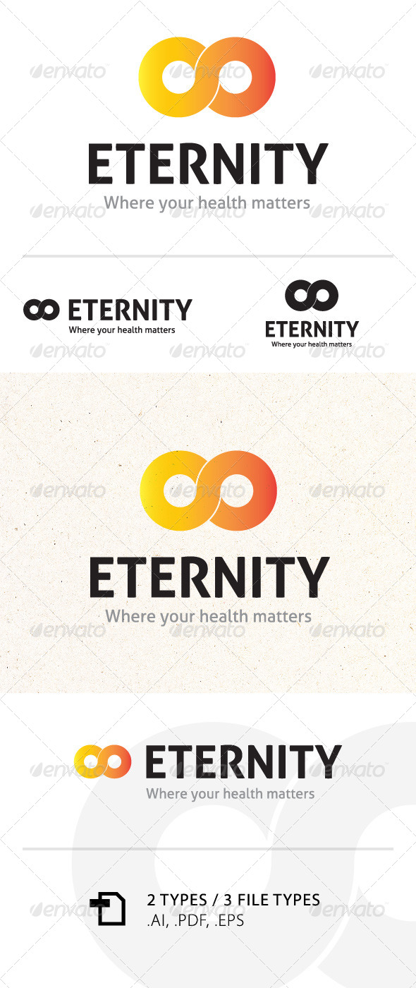GraphicRiver Eternity Logo Template 5872784