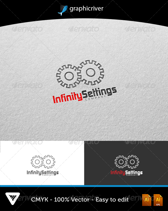 GraphicRiver Infinity Settings Logo 5903764