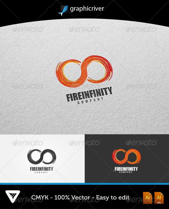 GraphicRiver Fire Infinity Logo 5904045