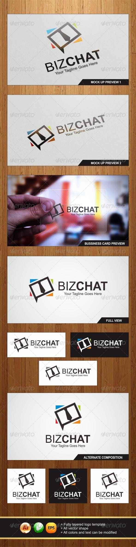 GraphicRiver Biz Chat Logo 5904263