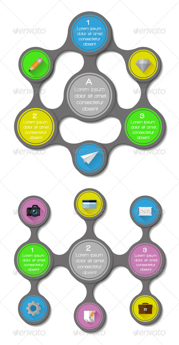 GraphicRiver UI Infographics and Web Elements 5904904