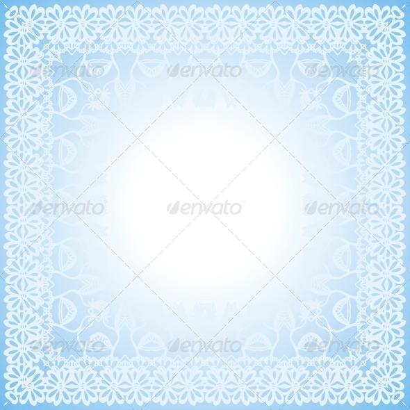 GraphicRiver Floral Border Frieze Frame 5905046
