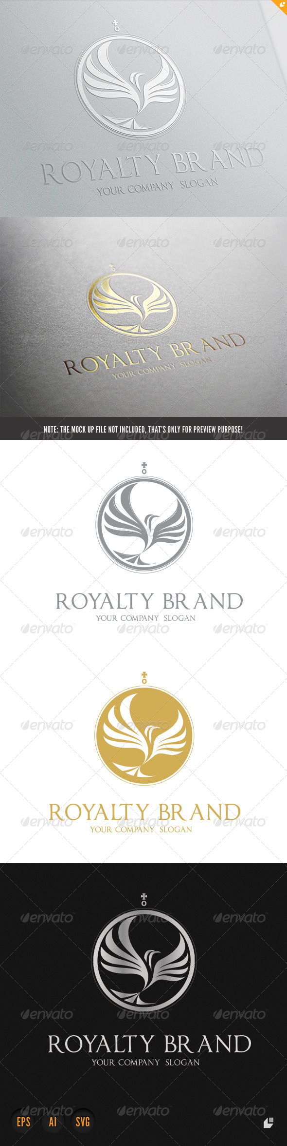 GraphicRiver Royalty Brand 5905285