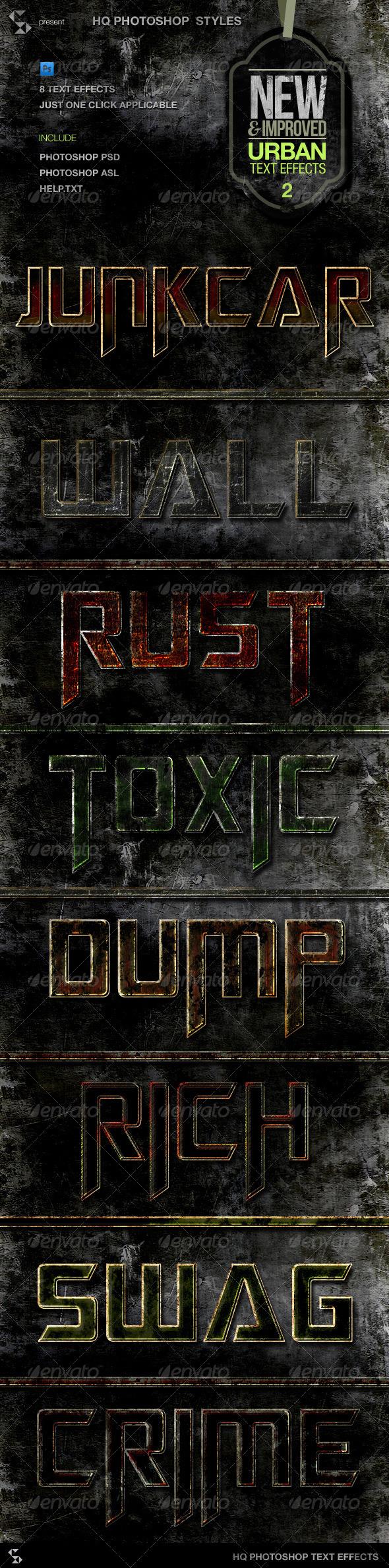GraphicRiver Urban Grunge Text Effects Vol.2 5905506