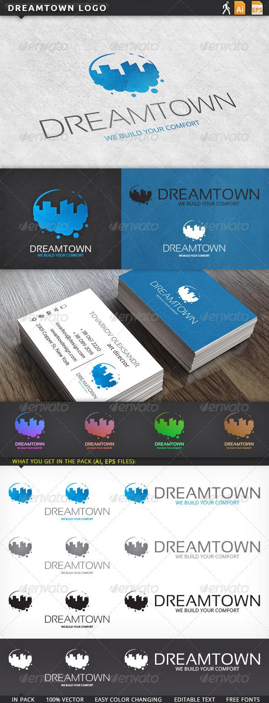 GraphicRiver Dreamtown Logo 5906128
