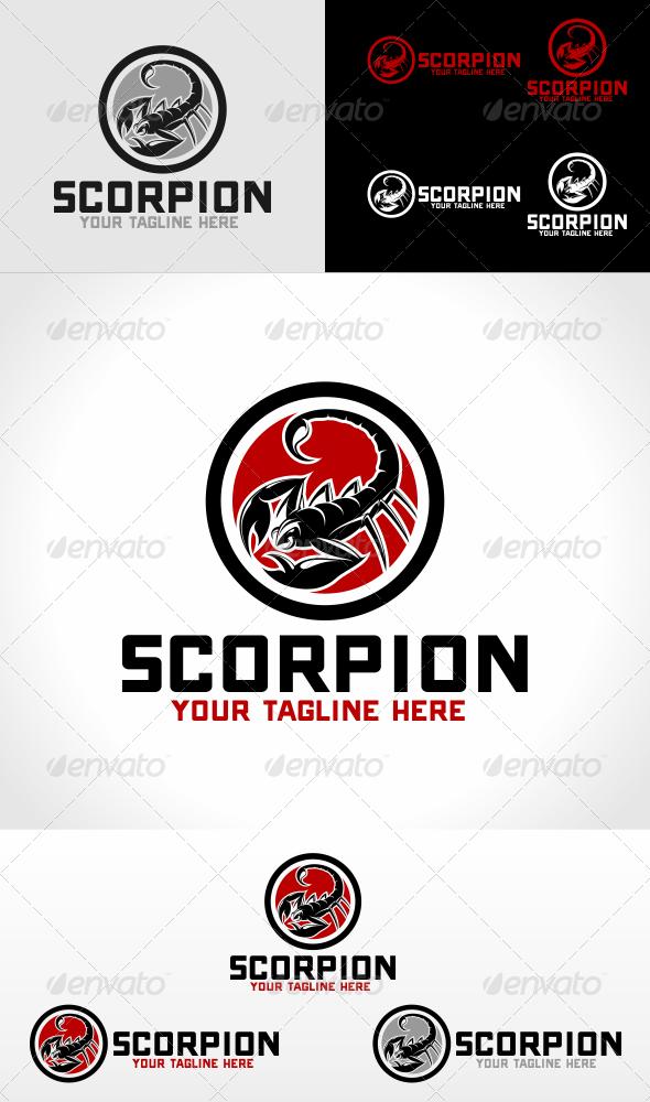 GraphicRiver Scorpion Logo Template 5906534