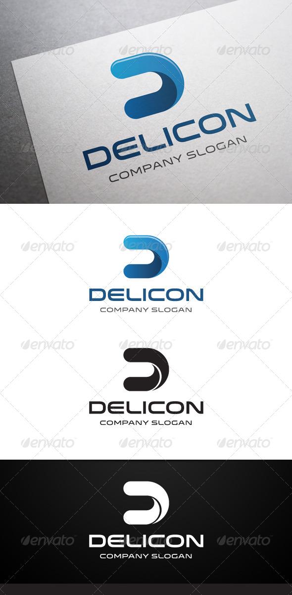 GraphicRiver Delicon D Letter Logo 5906868