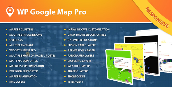 Advanced Google Maps Plugin for Wordpress - CodeCanyon Item for Sale