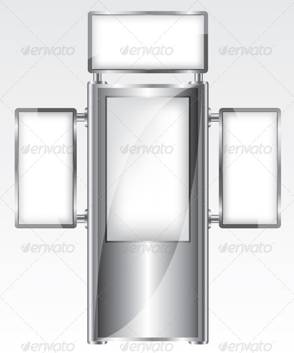 GraphicRiver Trade Exhibition Metal Stand 5907023