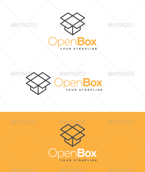 GraphicRiver Open Box Logo 5907034
