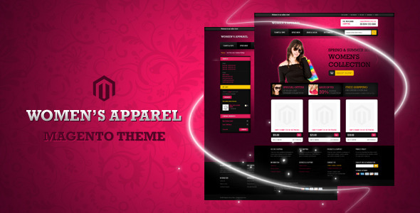 Women's Apparel Magento Theme - ThemeForest Item for Sale