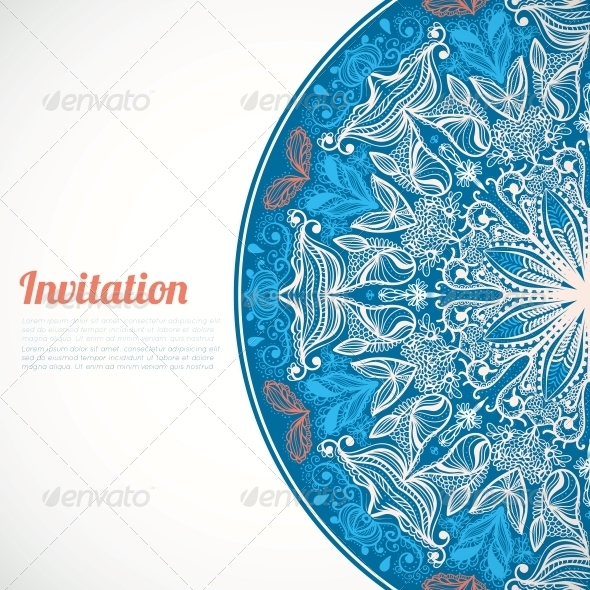GraphicRiver Invitation Card 5907053