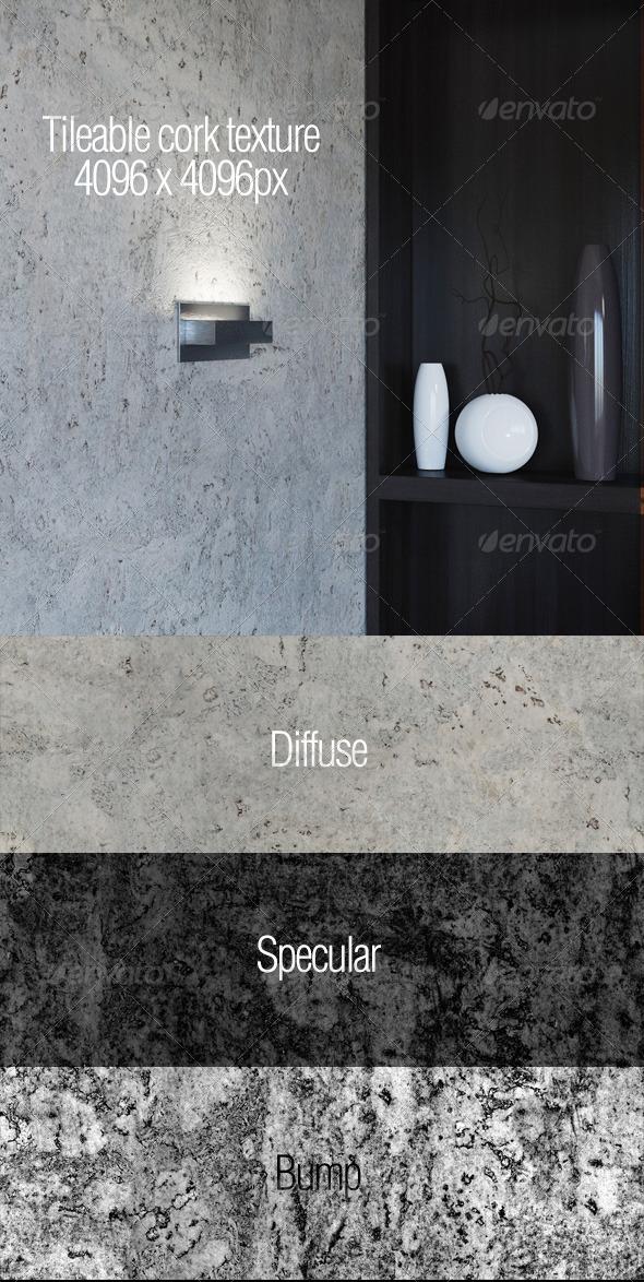 3DOcean High resolution tileable cork texture 5907098