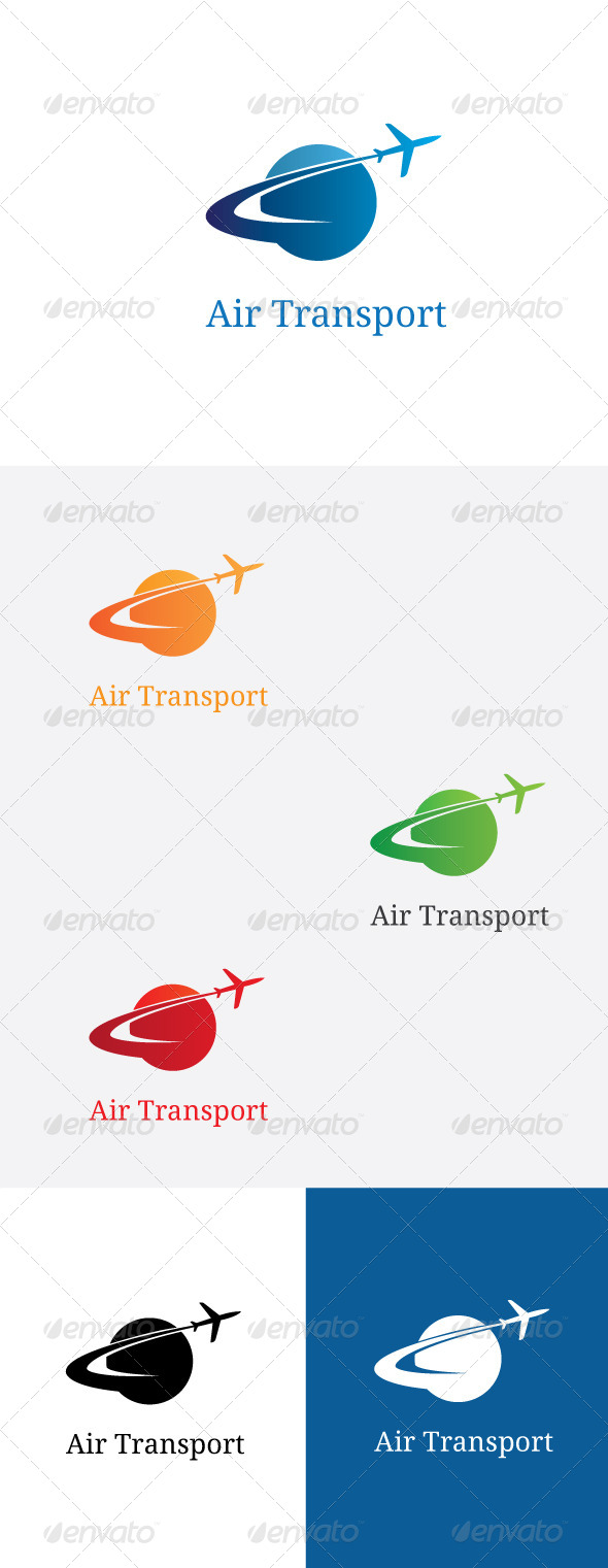 GraphicRiver Air Transport Logo Template 5907365