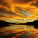 sunrise over lake - PhotoDune Item for Sale