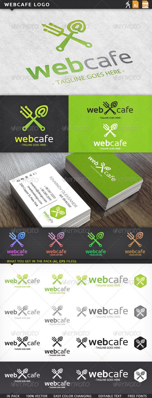 GraphicRiver Webcafe Logo 5909211