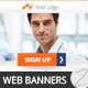 Multipurpose Business Marketing Banners 005 - GraphicRiver Item for Sale