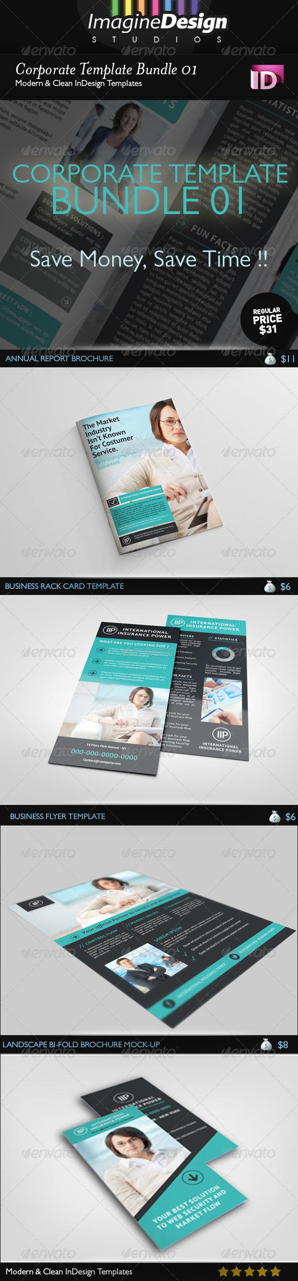 GraphicRiver Corporate Template Bundle 01 5909695