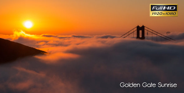 Golden Gate Sunrise Time Lapse