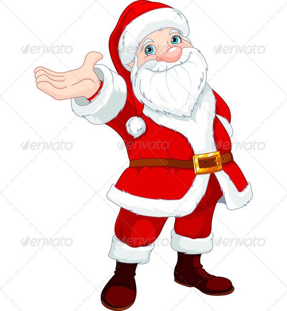 GraphicRiver Santa Clause Presents 5911623