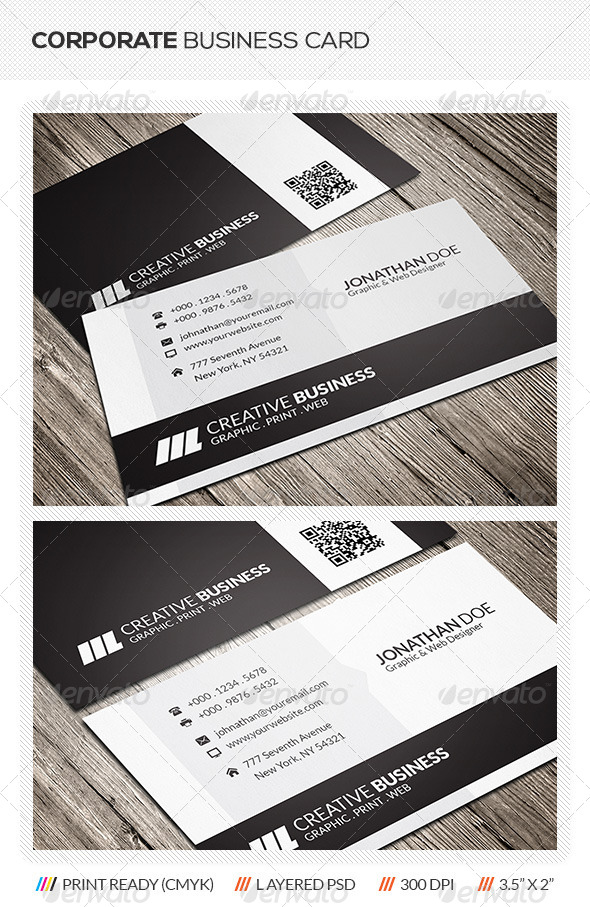 GraphicRiver Corporate Business Card 5912303