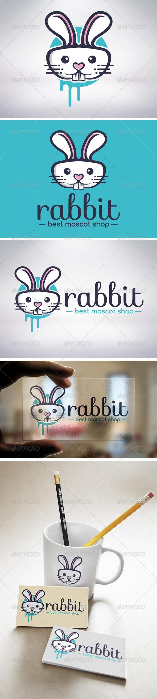 GraphicRiver Rabbit Logo 5912338