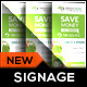 Renewable Energy Solution Roll-Up Banner - GraphicRiver Item for Sale