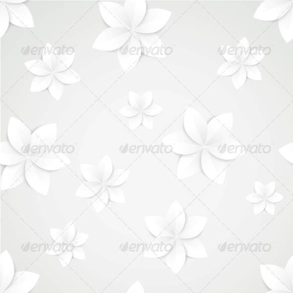 GraphicRiver Paper Floral Background 5912423