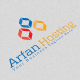 Arfan Hosting Logo - GraphicRiver Item for Sale